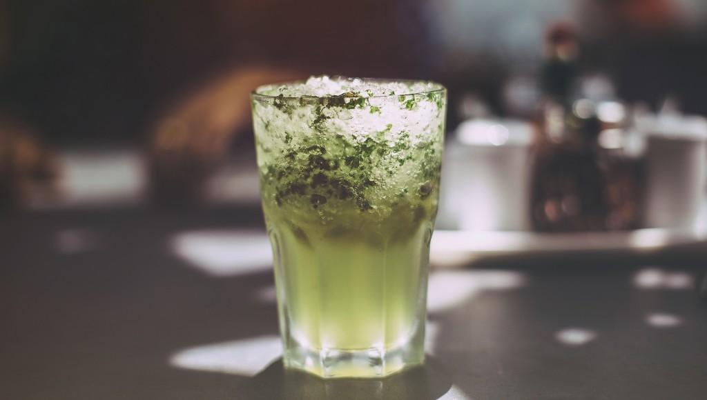 Grüne Erfrischung - Minze
